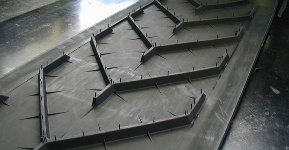 Оребрени / Шевронни транспортни ленти